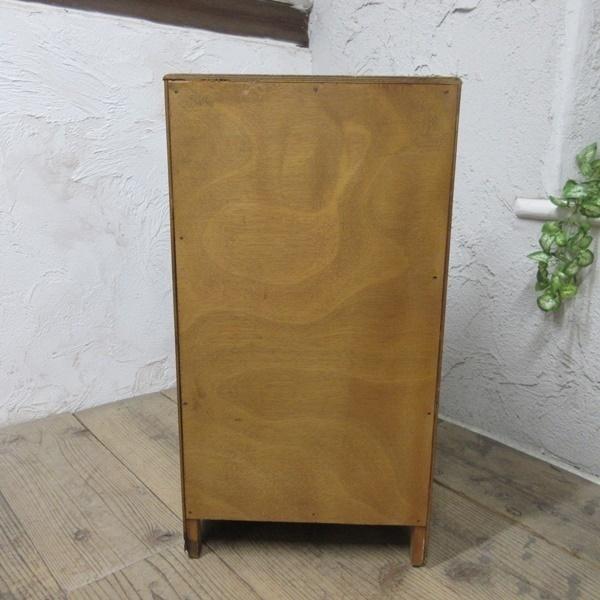 イギリス アンティーク 家具 サイドキャビネット ナイトスタンド 収納 飾り棚 木製 ウォルナット 英国 SMALLFUNITURE 6984b_画像8
