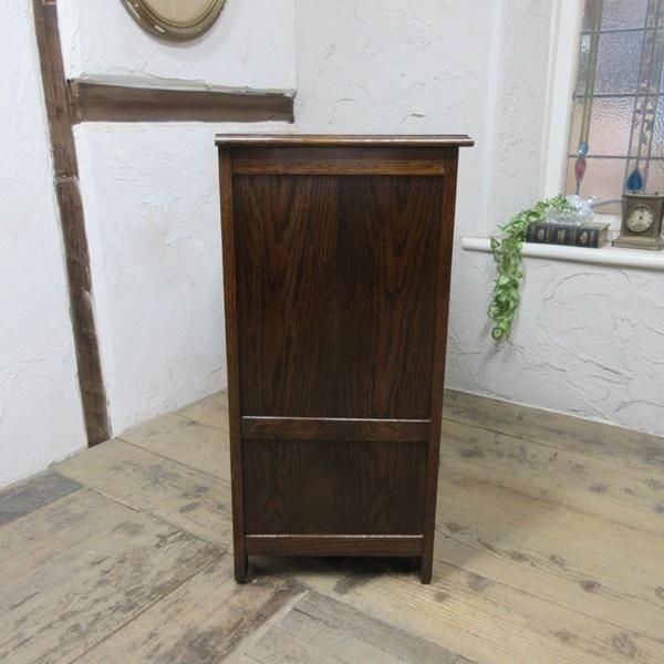 イギリス アンティーク 家具 サイドボード キャビネット 飾り棚 花台 収納 店舗什器 木製 オーク 英国 SIDEBOARD 6027c_画像7