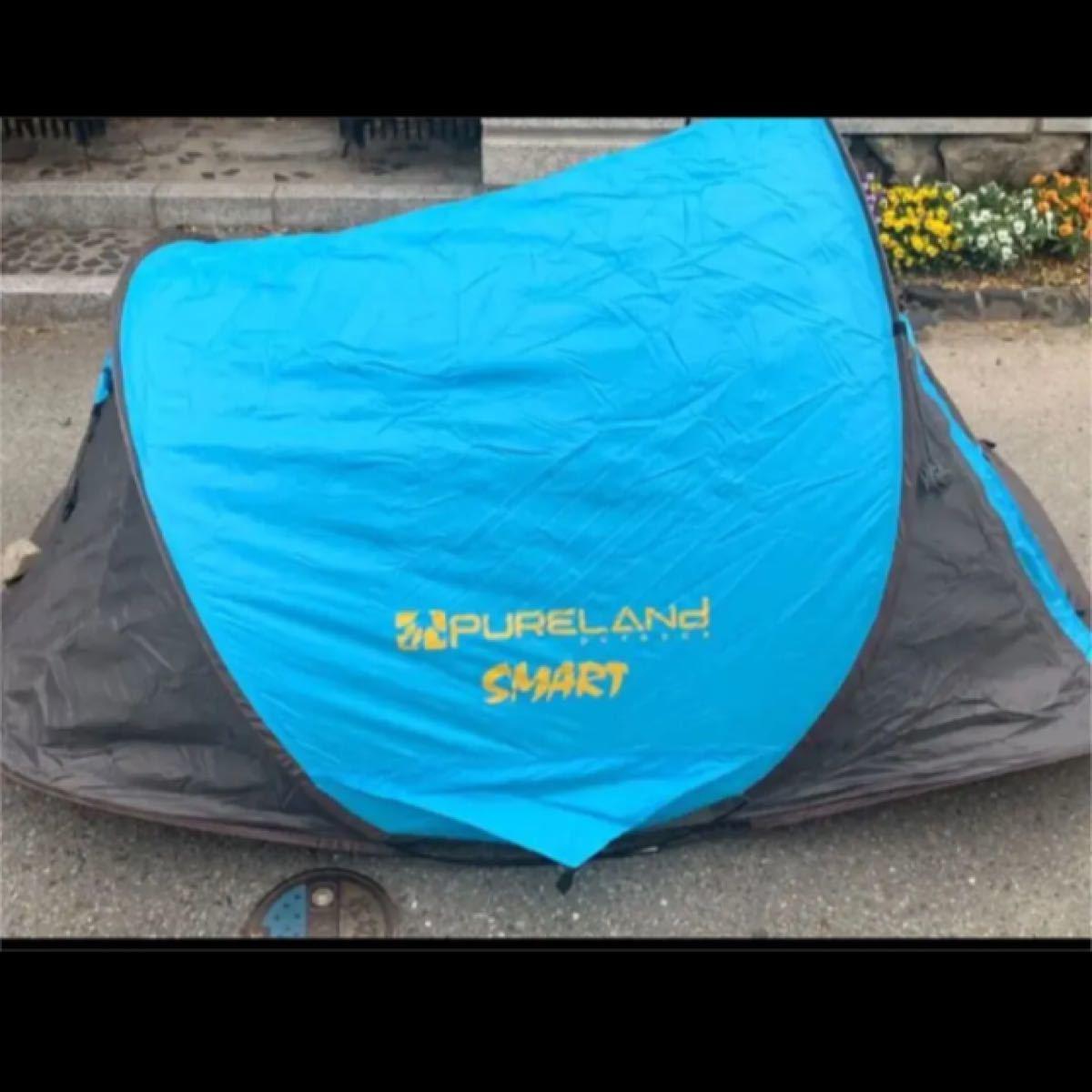 ワンタッチ テント 2人用 アウトドア ソロ キャンプテント ワンタッチ 防風防水 ポップアップテント設営簡単