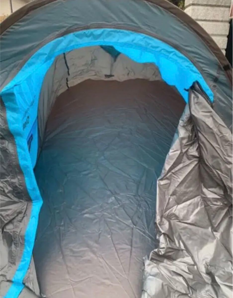 ワンタッチ テント 2人用 アウトドア ソロ キャンプテント ワンタッチ 防風防水 ポップアップテント設営簡単 折りたたみ 超軽量