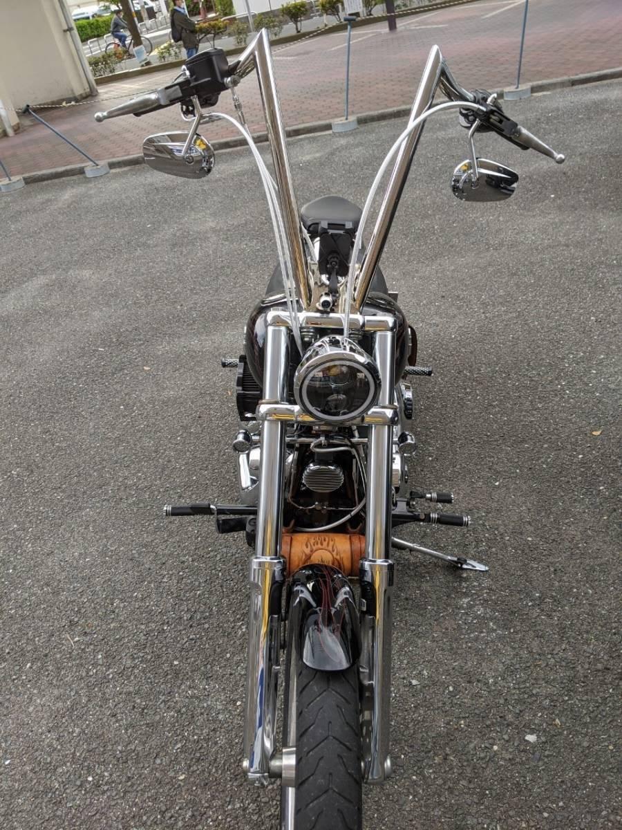「Harley-Davidson Fxcwc ハーレーダビッドソン ソフテイル ロッカーC 美品 大阪発」の画像2