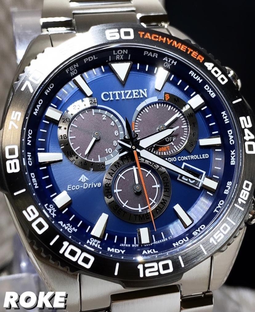 新品 シチズン CITIZEN 正規品 プロマスター クロノグラフ 腕時計 エコドライブ 電池交換