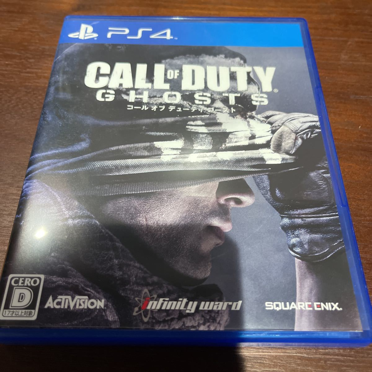 【中古】PS4 コール オブ デューティ ゴースト call of duty ghosts PLJM84001_画像1
