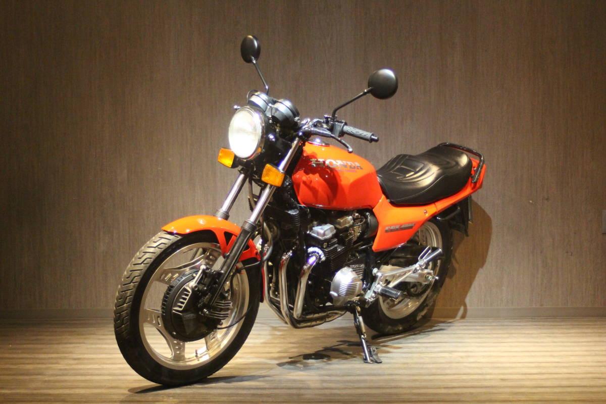 「1982年モデル ホンダ CBX400F 検無 NC07」の画像3