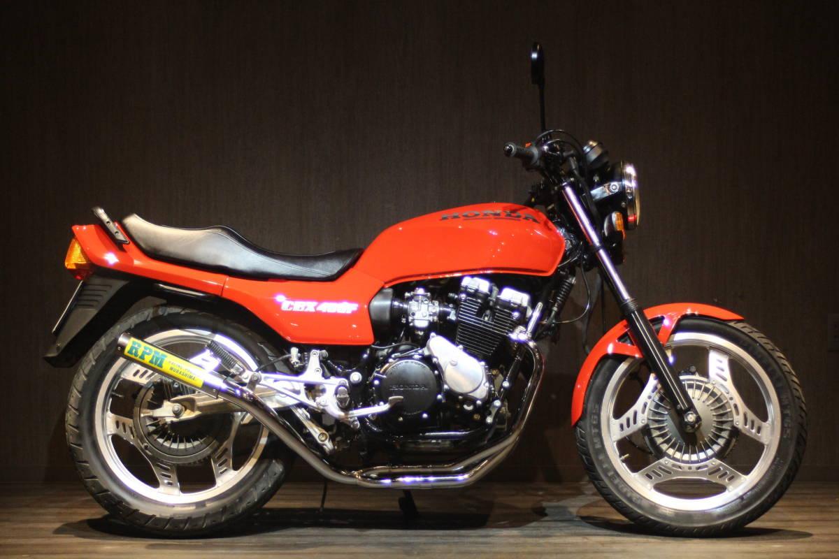 「1982年モデル ホンダ CBX400F 検無 NC07」の画像1