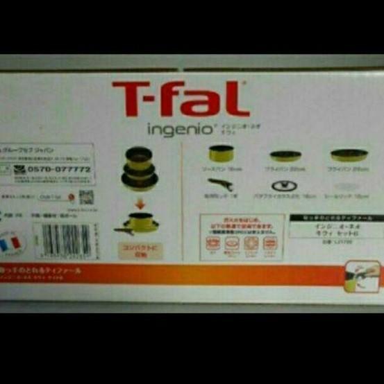 T-fal インジニオ・ネオ キウィ 6点セット