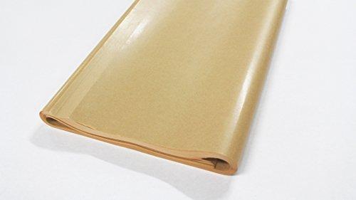 フジパック クラフト紙 片面ツヤ加工 ラッピング 包装紙 100枚_画像2