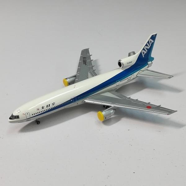 mR903a [人気] ブルーボックス 1/400 ANA 全日空 ロッキード L-1011-385-1 トライスター JA8519   ダイキャスト模型・モデル V_画像3