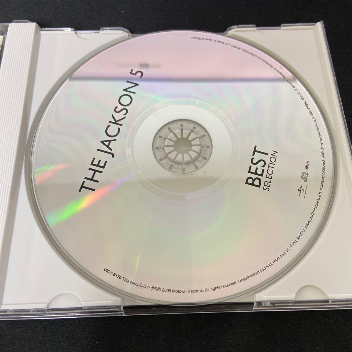 CDアルバム THE JACKSON5 BEST ジャクソン5 ベストセレクション