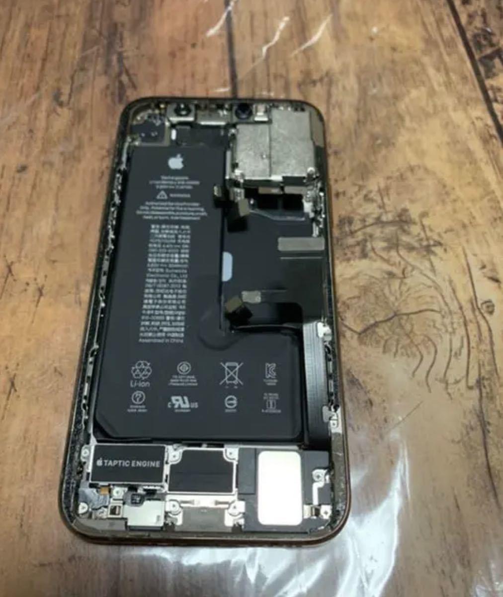 美品 iPhone11Pro ゴールド 筐体 ジャンク_画像2