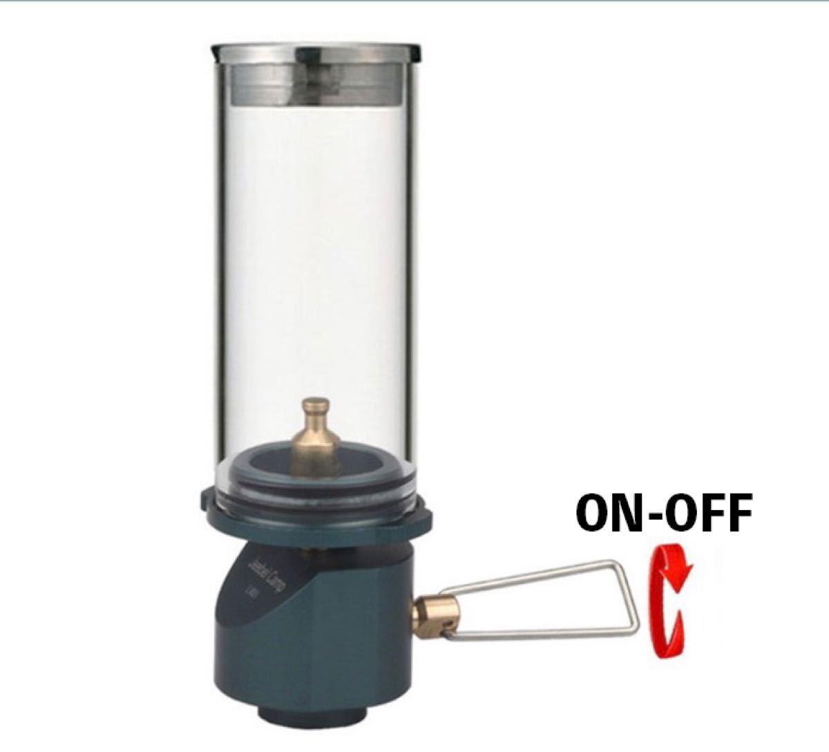 アウトドア ガスランタンJBL-L001Gree ガスキャンドル・ライト・ランプ