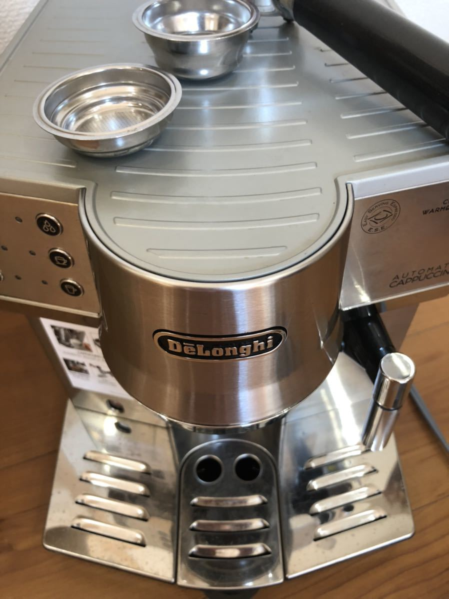 デロンギ DeLonghi エスプレッソ カプチーノ コーヒーメーカー EC860M