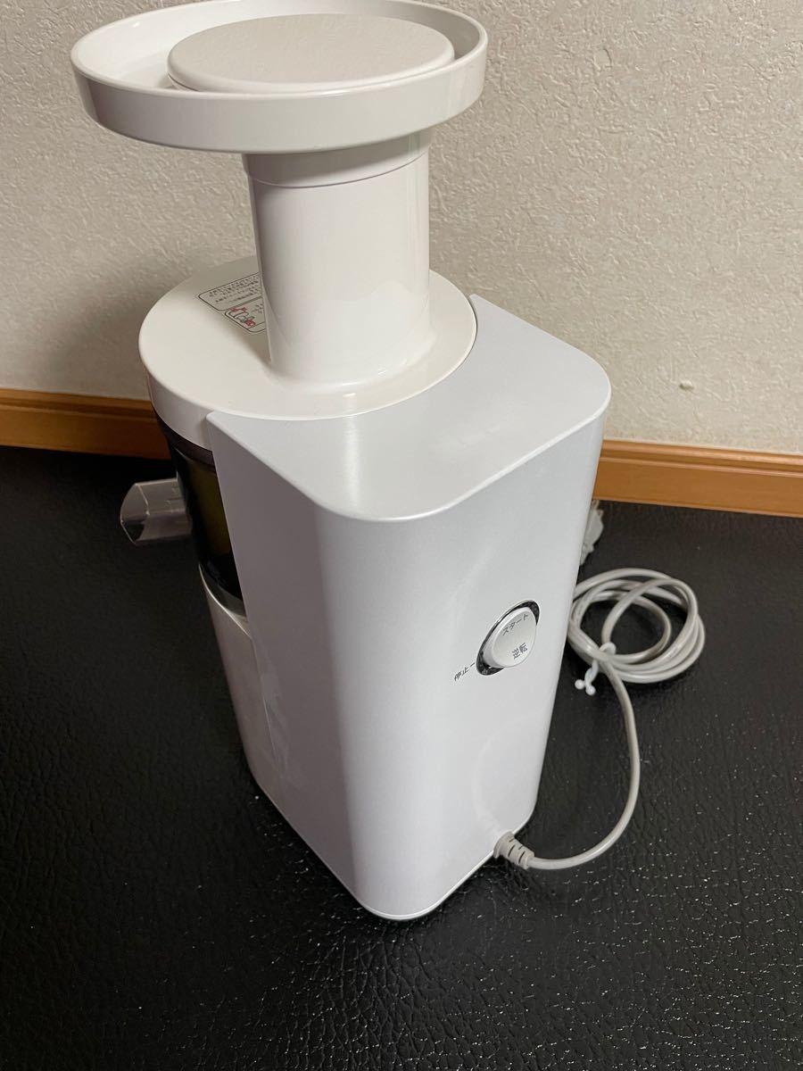 SHARP スロージューサー ジュースプレッソ EJ-CP10A -W ホワイト