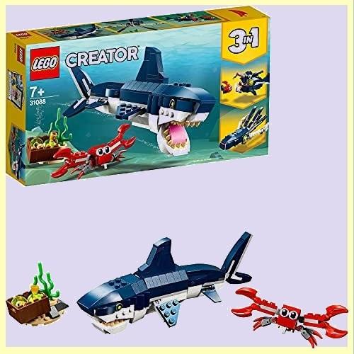 ☆★期間限定★☆新品☆未使用★ クリエイタ- レゴ(LEGO) 6-7R 女の子 男の子 深海生物 31088 知育玩具 ブロック おもちゃ_画像1