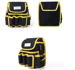 工具腰袋 ウエストポーチ ツールバッグ 工具差し 工具 収納 多機能 ウエストハンギングバッグ 工具入れ DIY 道具箱 LH256_画像1