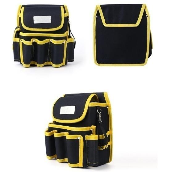 工具腰袋 ウエストポーチ ツールバッグ 工具差し 工具 収納 多機能 ウエストハンギングバッグ 工具入れ DIY 道具箱 LH256_画像2