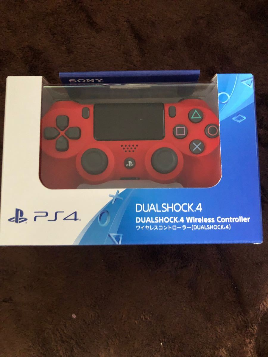 PS4 ワイヤレスコントローラー マグマ レッド DUALSHOCK4