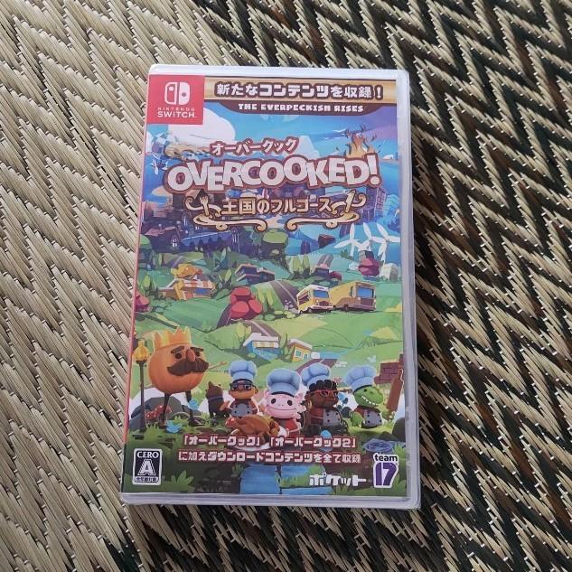 Nintendo Switch  ニンテンドースイッチ ソフト オーバークック 王国のフルコース