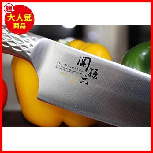 【大特価】AB5156 日本製 匠創 関孫六 KAI 貝印 165mm 三徳包丁_画像4