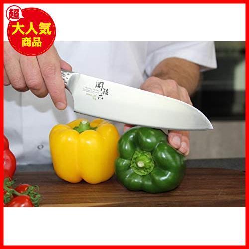 【大特価】AB5156 日本製 匠創 関孫六 KAI 貝印 165mm 三徳包丁_画像5