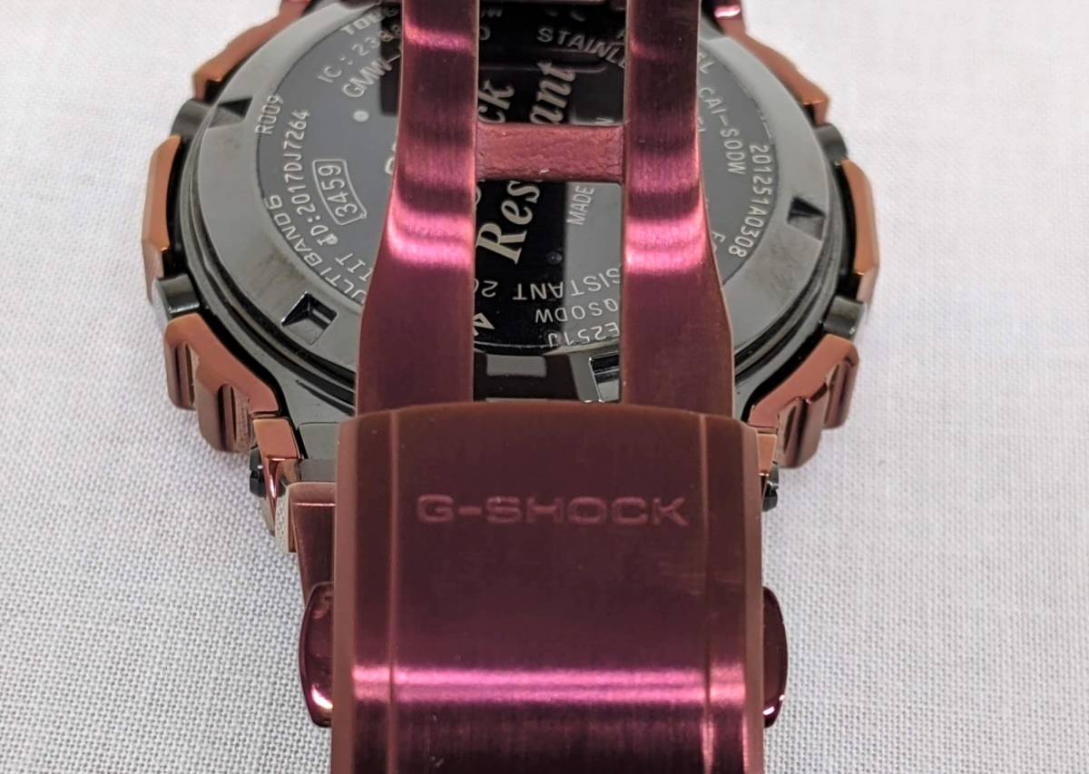 |【8869】1円 極美品 カシオ CASIO Gショック G-SHOCK Bluetooth搭載 …