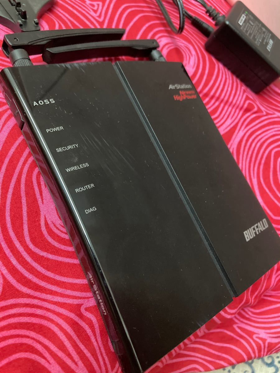 BUFFALO 無線LANルーター バッファロー  AirStation WHR-HP-G300N