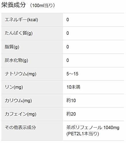 【SALE中!】2000ml×6本 アサヒ飲料 食事の脂にこの一杯。緑茶ブレンド お茶 ペットボトル 2L×6本_画像4