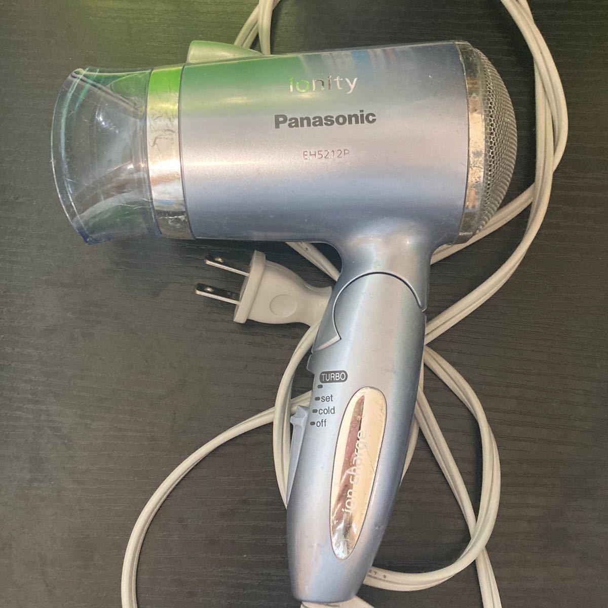 パナソニック ヘアドライヤー Panasonic イオニティ EH-NE28 マイナスイオン ゴールド ターボ ドラ イミニ