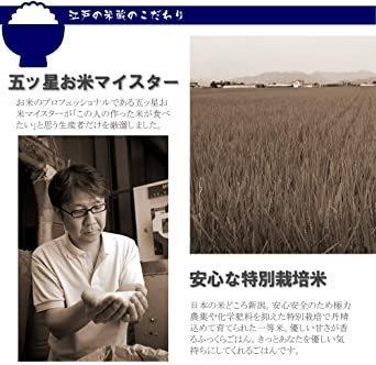 新品5kg 白米 【精米】 新米 令和2年産 特別栽培米 一等米 新潟県産 コシヒカリ 五ツ星お米マイス506P_画像5