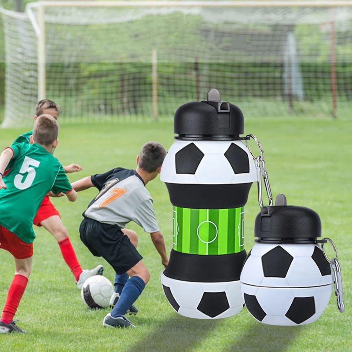 サッカー 水筒 550ml  ステンレスボトル スポーツボトル