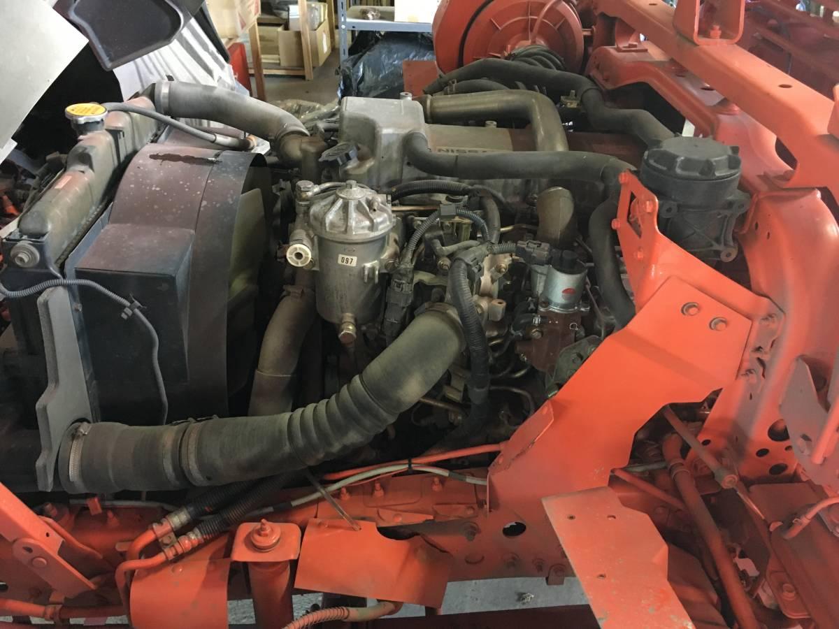 コンドル 6速MTターボ 車検令和4年7月 4段 ユニック クレーンローダー スライド 回送 積載車 フォワード レンジャー ファイター キャンター_画像9