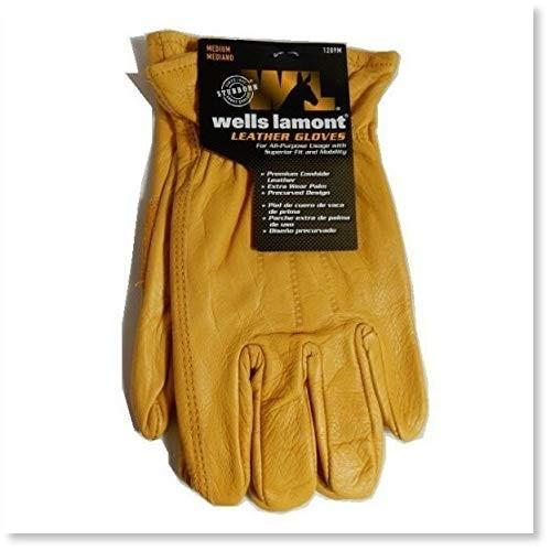 wells lamont ウェルズラモント バイク 革 プレミアム レザー グローブ 牛革手袋 アウトドア BBQ