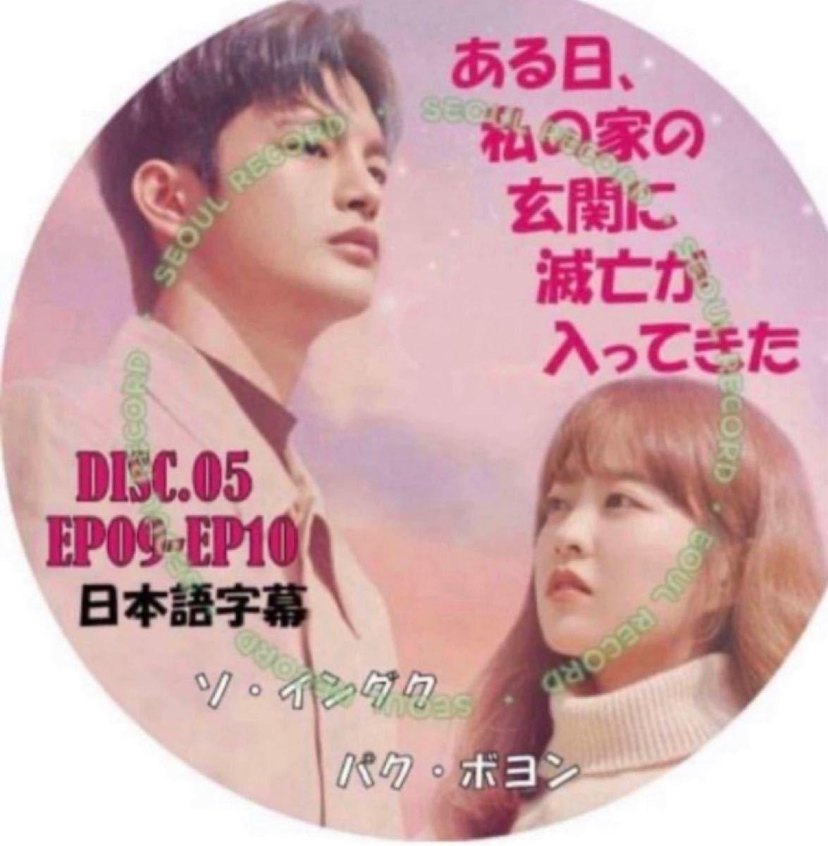 韓国ドラマ ソイングク ある日、私の家の玄に滅亡が入ってきた DISK05(日本語字幕)EP9+10DVDレーベル印刷付