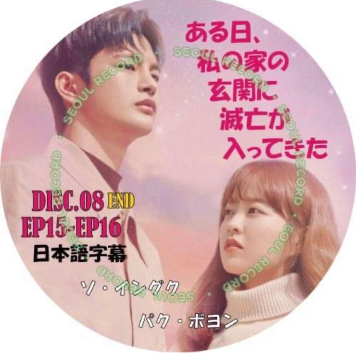 ソイングク 最終回 ディスク8ある日、私の家の玄に滅亡が入ってきた  日本語字幕 EP15+16DVDレーベル印刷付