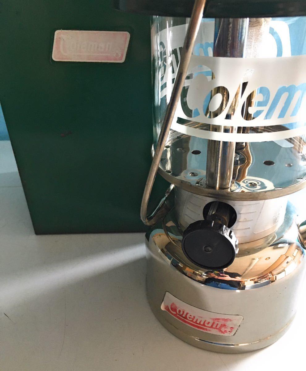 【希少】Coleman コールマン ワンマントル ランタン MODEL 335 84年02月製造 カナダ製 ケース付き