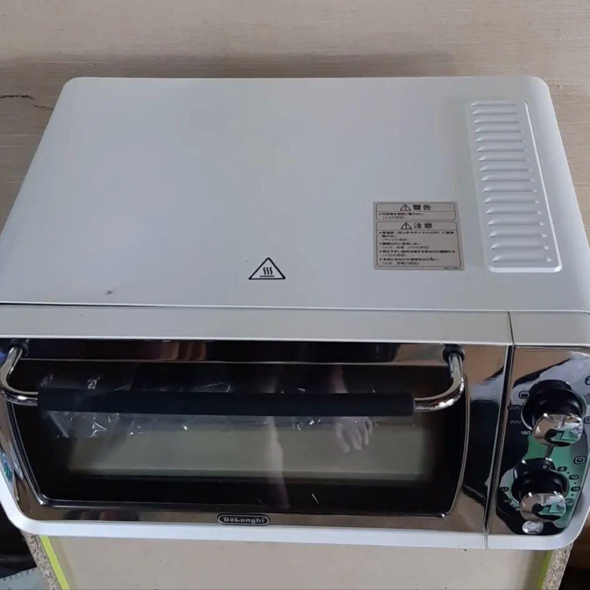 デロンギオーブントースター DeLonghi デロンギ 電気オーブン EOI407J-W