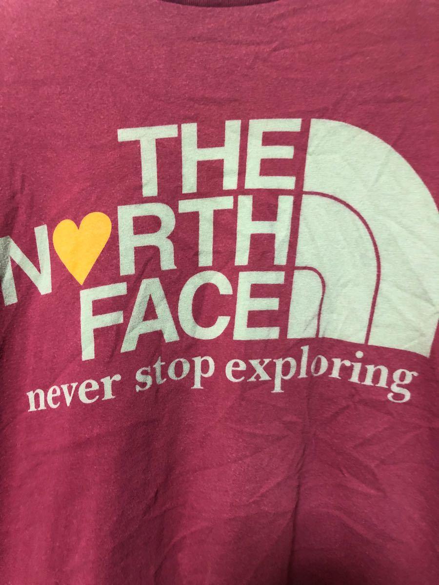 North Face Tシャツ ザノースフェイス THE NORTH FACE ロゴTシャツ 半袖Tシャツ