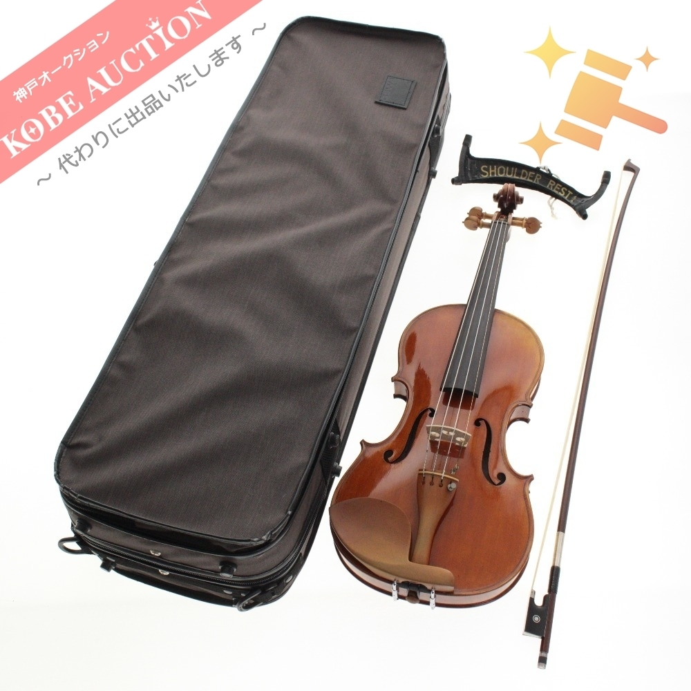 ★ Mario Gadda マリオ ガッダ 1985 バイオリン ヴァイオリン 弓 E.SARTORY 全長約58.5cm