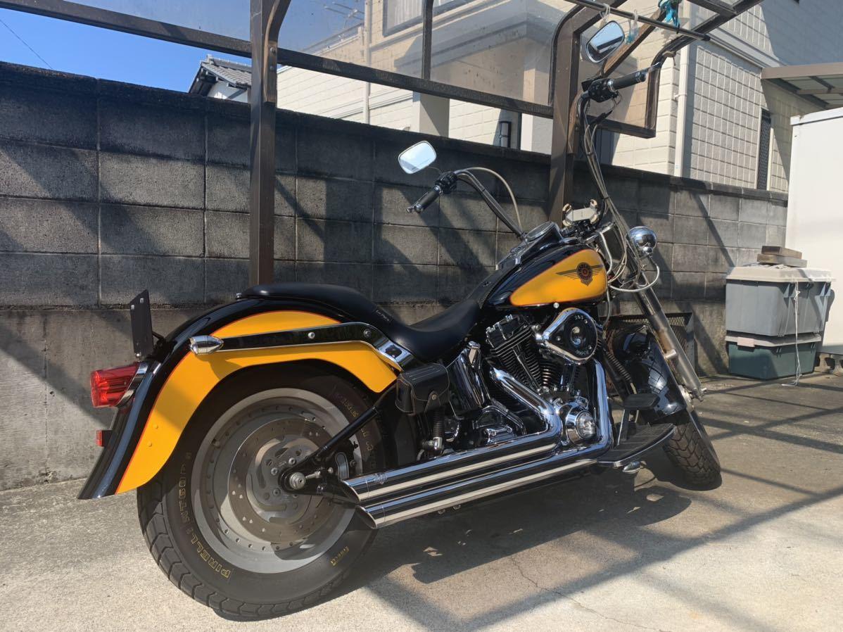ハーレーダビッドソン ファットボーイ 2000年 FLSTF Harley-Davidson キャブ車_画像7