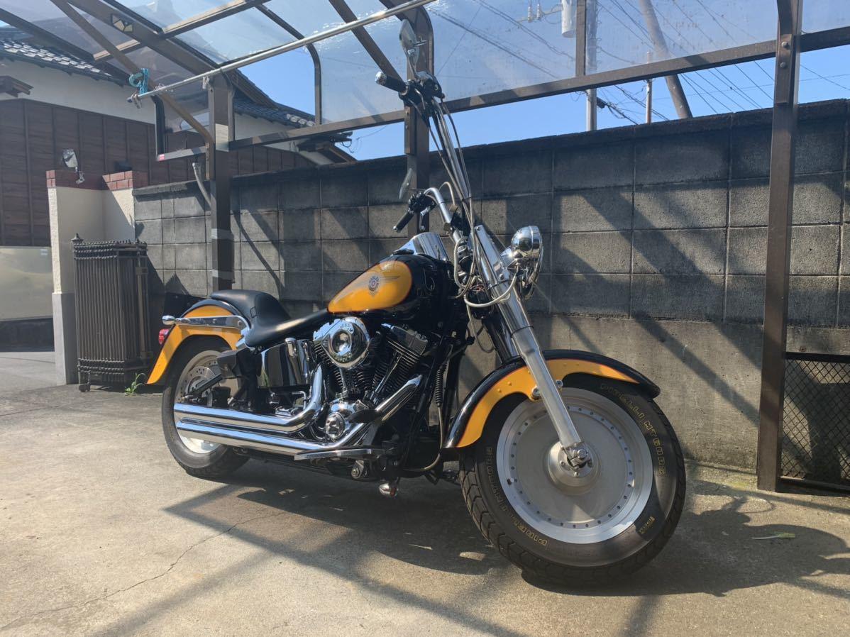 ハーレーダビッドソン ファットボーイ 2000年 FLSTF Harley-Davidson キャブ車_画像6