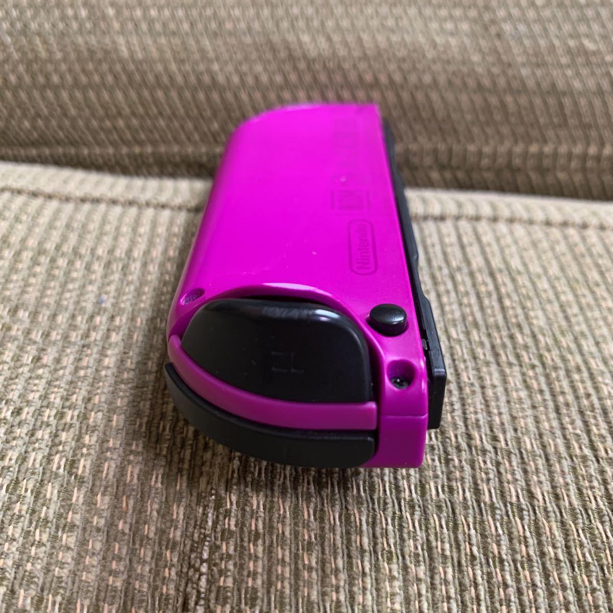 保証付き 動作確認済 Nintendo Switch Joy-Con(L) ネオンパープル ジョイコン L - 左 紫色 任天堂 ニンテンドースイッチ コントローラー