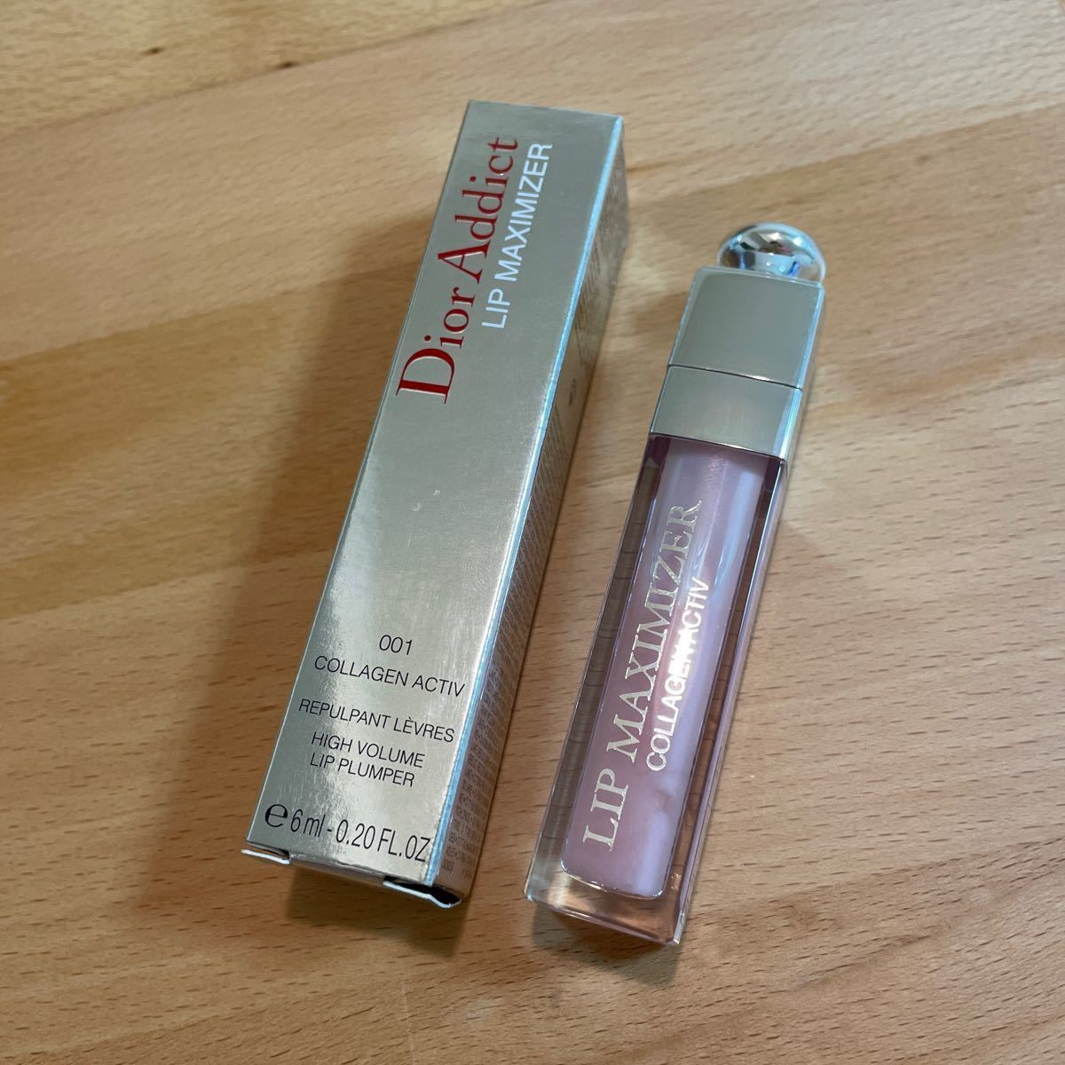 【Dior】正規品 ディオール マキシマイザー 001 リップグロス 6ml