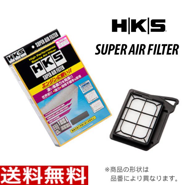 HKS スーパーエアフィルター 70017-AM105 ミツビシ CR9W ディオン 純正交換用 エアフィルター エアーフィルター MR552951/MR481794_画像1