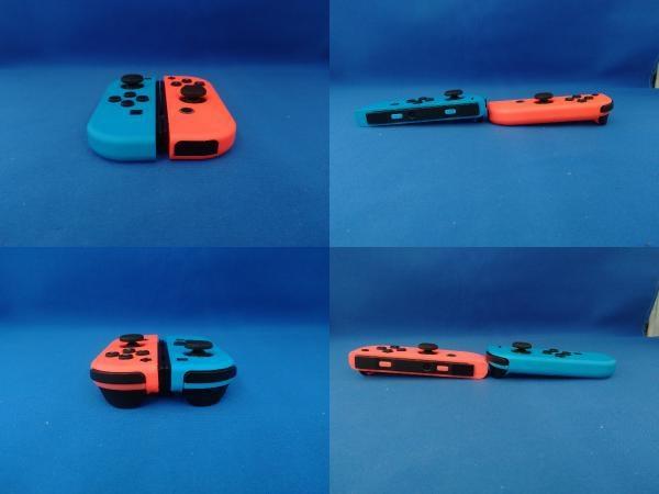 Nintendo Switch ニンテンドースイッチ Joy-Con(L) ネオンブルー/(R) ネオンレッド(HADSKABAA)(バッテリー拡張モデル)_画像4