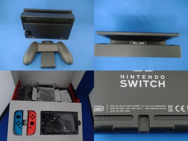 Nintendo Switch ニンテンドースイッチ Joy-Con(L) ネオンブルー/(R) ネオンレッド(HADSKABAA)(バッテリー拡張モデル)_画像7
