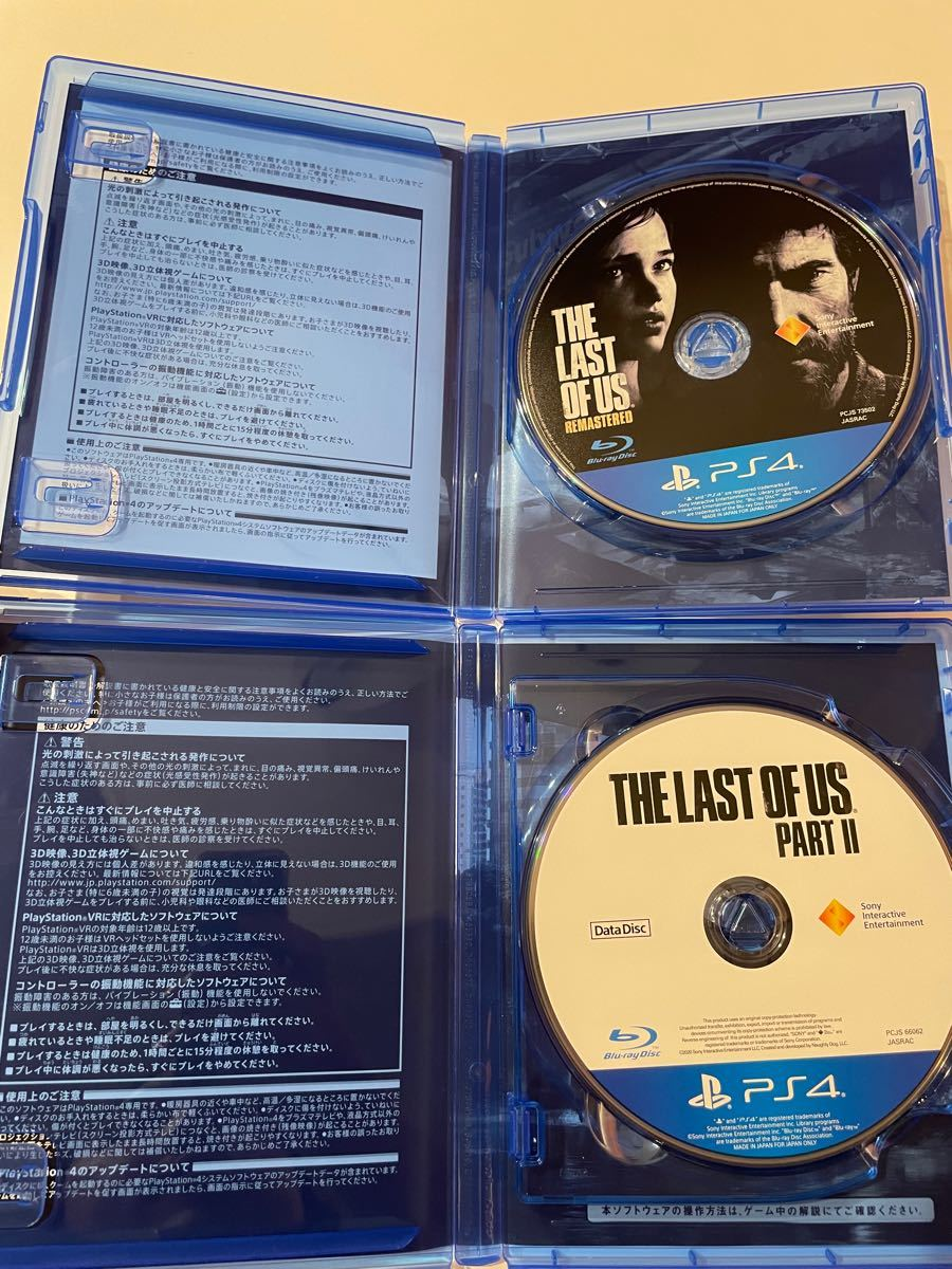 THE LAST OF US ラストオブアス2 セット ラスアス ラスアス2 PS4ソフト