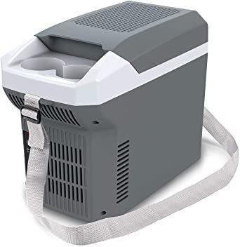 保冷温庫 ポータブル 温冷庫 8L 2WAY USB端子搭載 ミニ冷蔵庫 DC12V [車載用 ホット&クール] 冷蔵庫 小型 _画像1