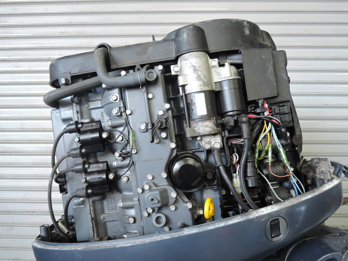 Outboard motor エンジン始動品 YAMAHA ヤマハ 船外機 80馬力 4スト S051216 スズキ トーハツ ホンダ 80 90 100 115 150 175 yamaha_画像7