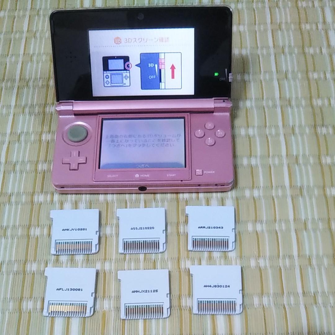 ニンテンドー3DS本体 ソフト6本セット