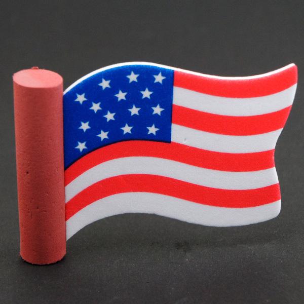 アメリカン ウェイビング フラッグ アンテナボール アンテナトッパー 車 目印 USA アメリカ 国旗 星条旗 アメ車 【メール便OK】_画像1